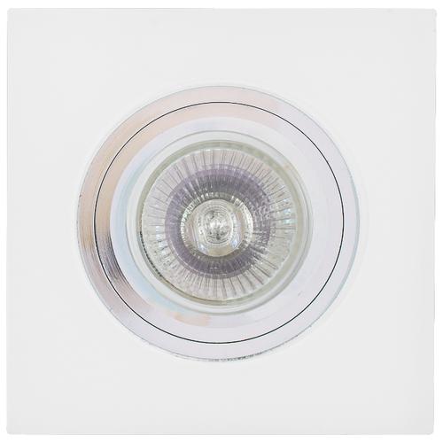 Встраиваемый светильник De Fran FT 892, хром / матовый треугольник de fran ft 9228 g smd