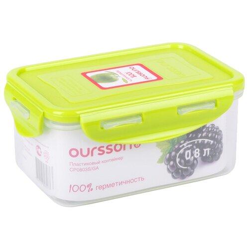 Oursson Контейнер CP0803S зеленое яблоко