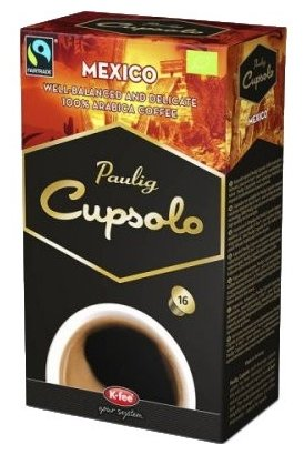 Кофе в капсулах Paulig Mexico (16 капс.)