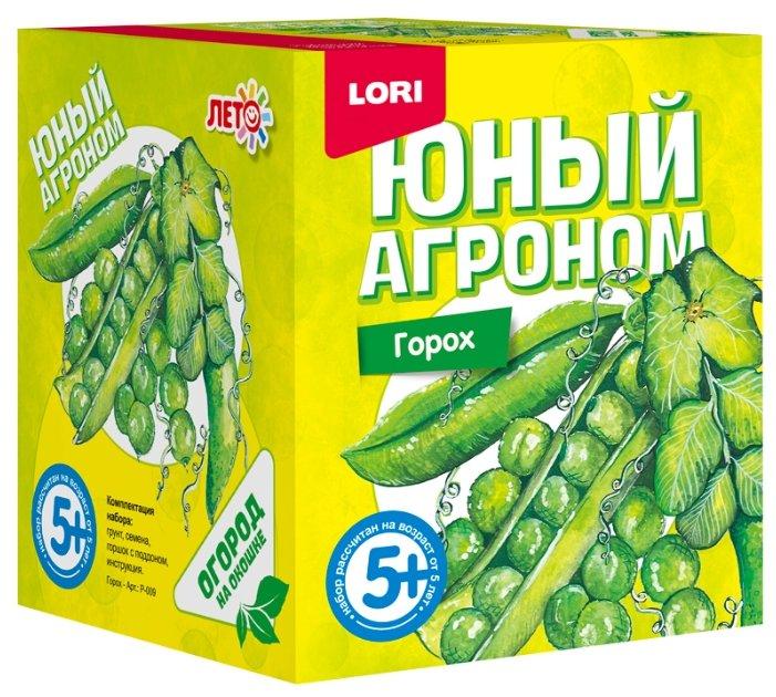 Набор для выращивания LORI Юный агроном. Горох Р-009