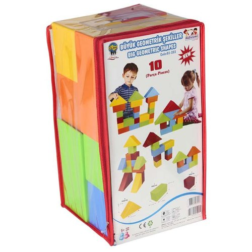 Кубики pilsan Конструктор 03-222, Детские кубики  - купить со скидкой