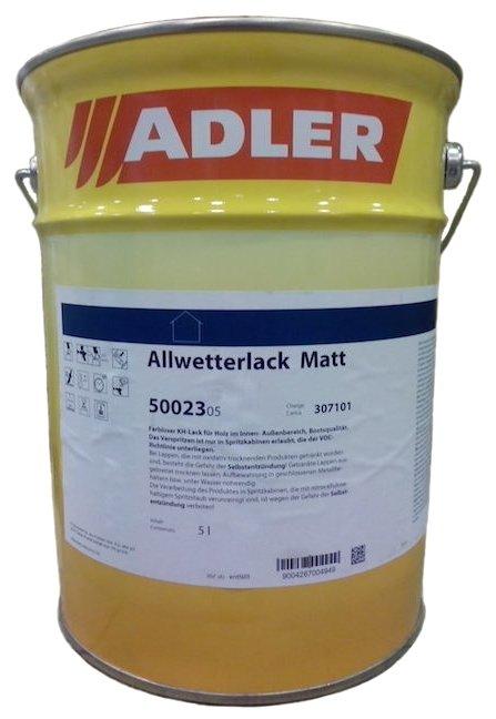 Лак ADLER Allwetterlack матовый (5 л)