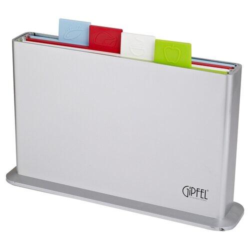 Набор разделочных досок GIPFEL CORTA 3137 33,8 х 20,7 см (4 шт.) зеленый/белый/красный/голубой