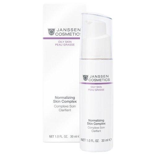 Janssen Cosmetics Oily Skin Normalizing Skin Complex Нормализующий концентрат для лица для жирной кожи, 30 мл недорого