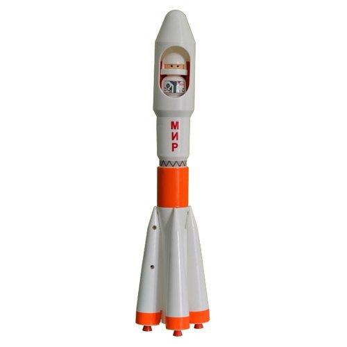 Купить Ракета Форма Детский сад - Мир (С-188-Ф) 7.5 см белый, Машинки и техника
