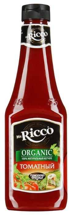 Кетчуп Mr.Ricco Томатный organic с перцем чили, пластиковая бутылка 570 г