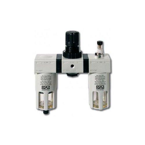 цена на Фильтр/редуктор/лубрикатор GAV G-FRL-200 (13028) 14 атм , 1/2F , 1/2F