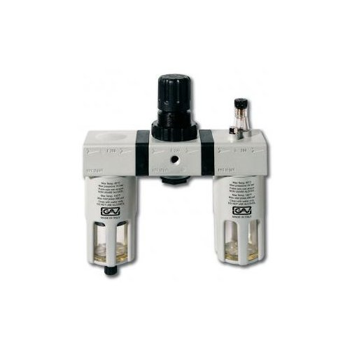 цены Фильтр/редуктор/лубрикатор GAV G-FRL-200 (13028) 14 атм , 1/2F , 1/2F