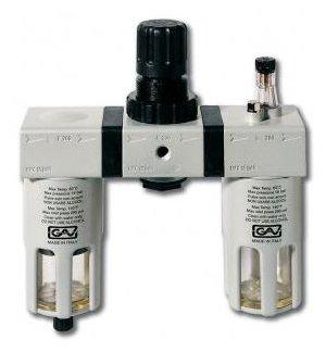 Фильтр/редуктор/лубрикатор GAV G-FRL-200 (13028) 12 атм , 1/2F , 1/2F