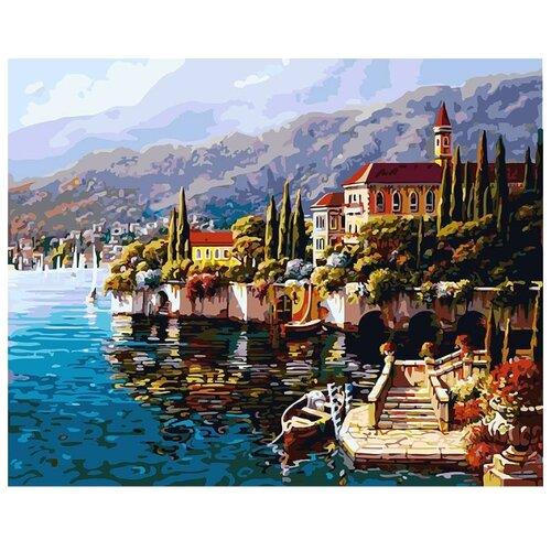 Белоснежка Картина по номерам Варенна. Италия 40х50 см (370-AB)