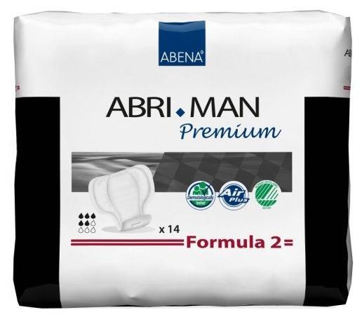 Урологические прокладки Abena Abri-Man Premium Formula 2 41007 (14 шт.)
