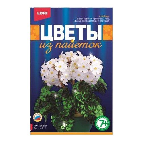 цена на LORI Цветы из пайеток Гортензия Цв-012