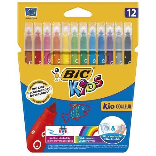 BIC Фломастеры Kid Couleur 12 шт. (9202932) разноцветныеФломастеры<br>