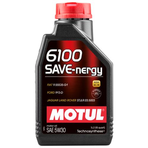 Моторное масло Motul 6100 SAVE-nergy 5W30 1 л бидон padia 3 л 6100 22