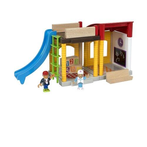 Игровой набор Brio Школа 33943 игровой набор brio детская площадка 4 предмета