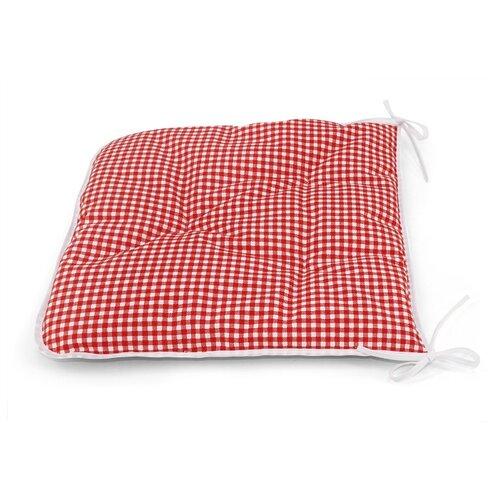 цена Подушка на стул Kauffort Red Kimberly, 40 х 40 см (112217630) мультиколлор онлайн в 2017 году