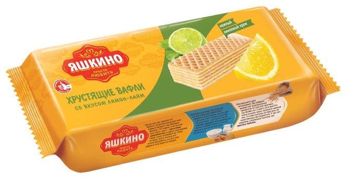 Вафли Яшкино Лимон-Лайм 300 г