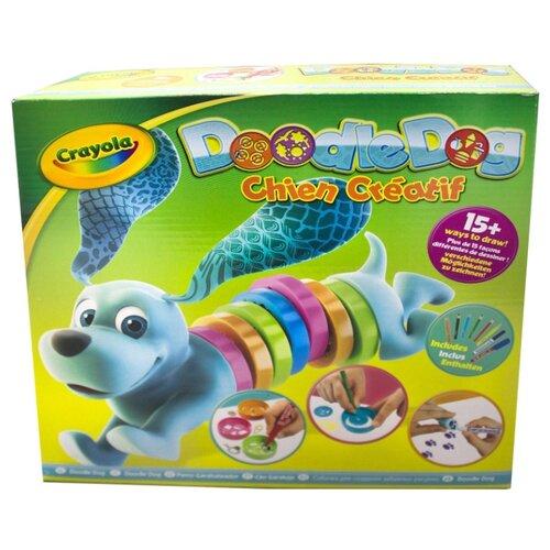 Купить Crayola Chien Creatif Набор трафаретов для рисования Doodle Dog (93021), Наборы для рисования