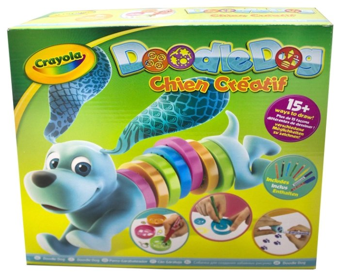 Crayola Chien Creatif Набор трафаретов для рисования Doodle Dog (93021)
