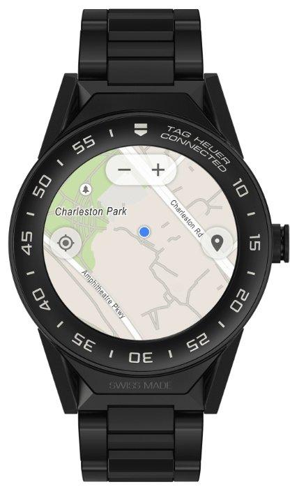 Часы TAG Heuer Connected Modular 41 (PVD-покрытие, керамика)