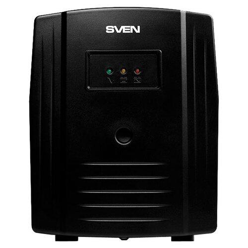 Интерактивный ИБП SVEN Pro 1000 (USB) черный