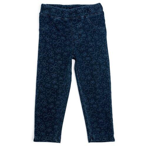 Легинсы playToday размер 80, голубойБрюки и шорты<br>