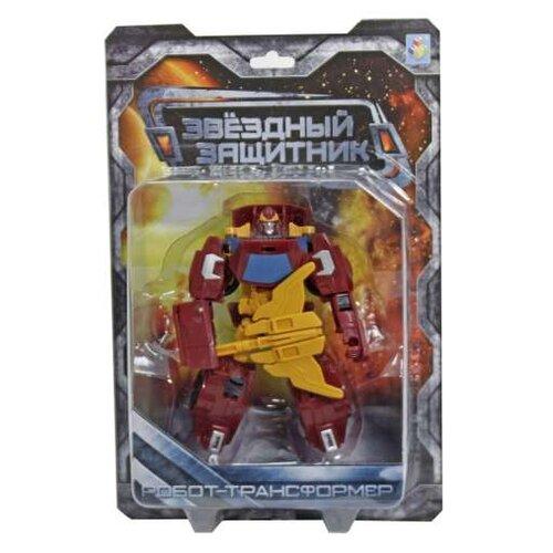 Купить Трансформер 1 TOY Звездный защитник Машина красно-желтый, Роботы и трансформеры
