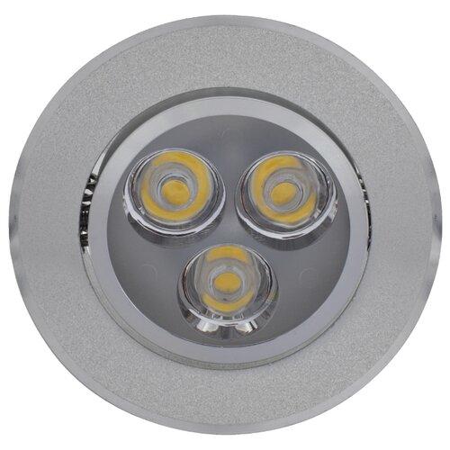 Встраиваемый светильник De Fran FT 922 LED, алюминий треугольник de fran ft 9228 g smd