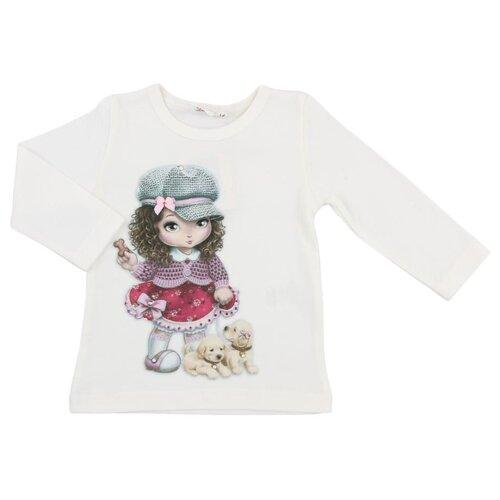 Лонгслив Linas Baby размер 74 (6-9), молочныйФутболки и рубашки<br>