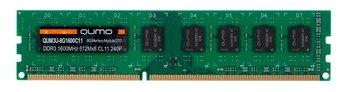 Оперативная память 8 ГБ 1 шт. Qumo QUM3U-8G1600C11