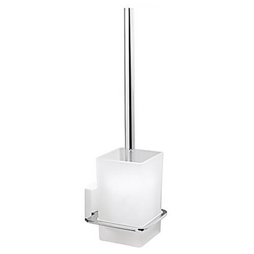 Ершик туалетный WasserKRAFT Leine K-5027 белый/хром