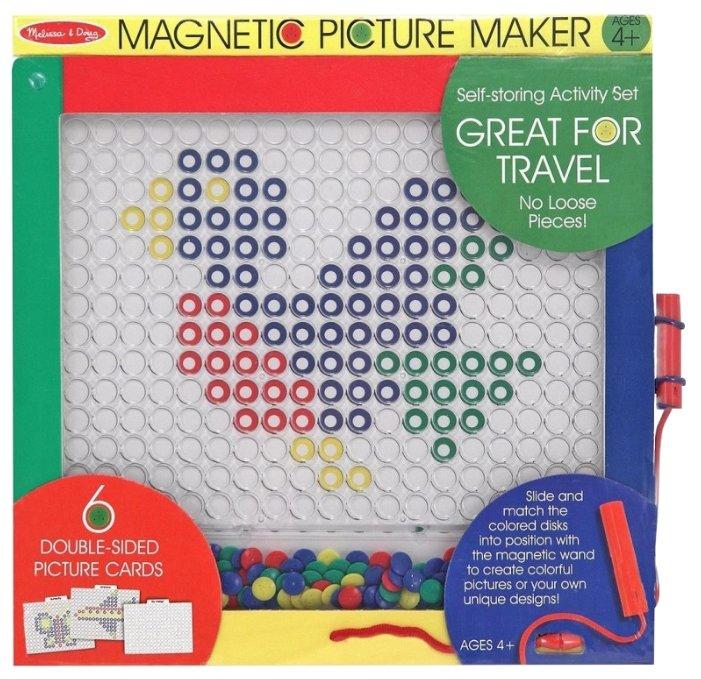 Доска для рисования детская Melissa & Doug Магнитные Игры (3541М)