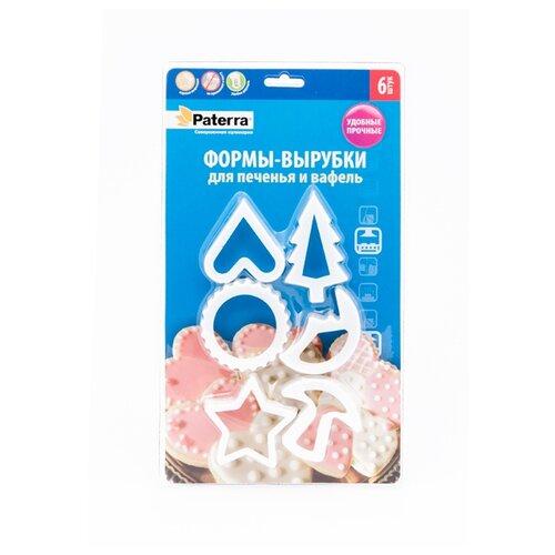 цены Форма для печенья Paterra 402-455, 6 шт.