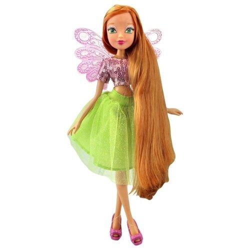Кукла Winx Club Мерцающее облако Флора, 28 см, IW01471702