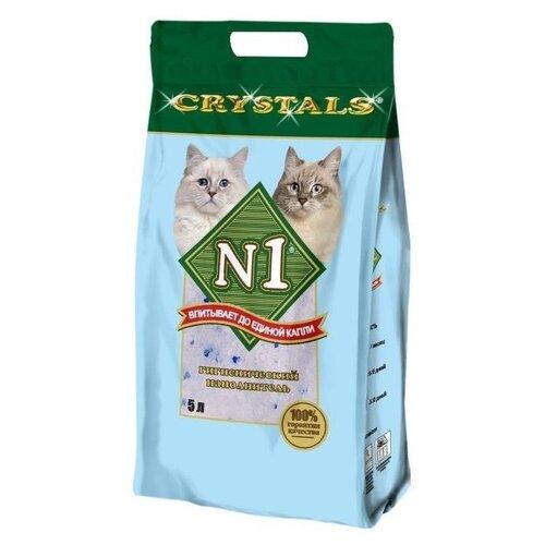 Впитывающий наполнитель N1 Crystals 5 л
