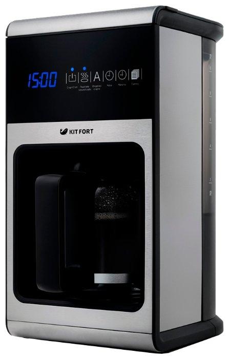 Кофеварка и кофемашина Кофеварка KITFORT 714-КТ черный