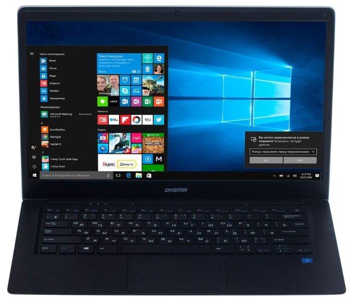 Ноутбук Digma EVE 1402 (Intel Atom x5 Z8350 1440 MHz/14.1