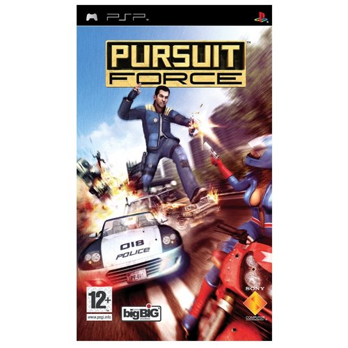 Игра для PlayStation Portable Pursuit Force