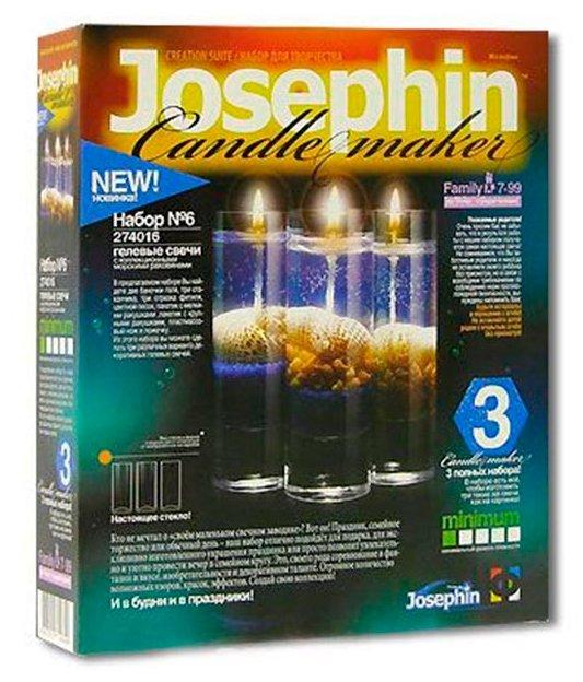 Josephin Гелевые свечи с ракушками Набор №6 (274016)
