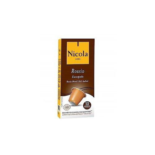 Кофе в капсулах Nicola Rossio (10 капс.) кофе зерновой nicola selecto