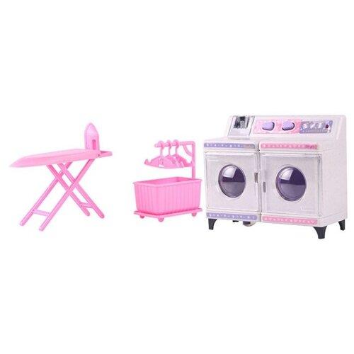 Купить Набор Dolly Toy DOL0803-022 розовый/белый, Детские кухни и бытовая техника