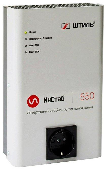 Стабилизатор напряжения однофазный Штиль IS550 (0.4 кВт)