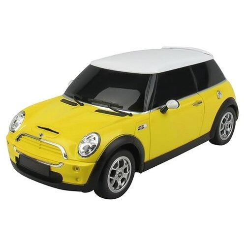 Купить Легковой автомобиль Rastar Minicooper S (15000) 1:24 желтый, Радиоуправляемые игрушки