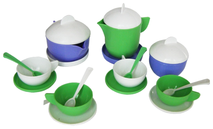 Набор посуды Пластмастер Чайный сервиз 21012
