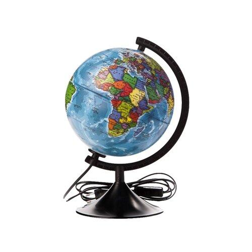 Глобус политический Globen Классик 210 мм (К012100010) черный