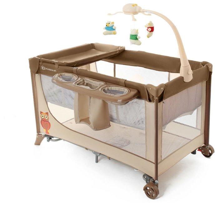 Манеж-кровать Kinderkraft Joy Completo
