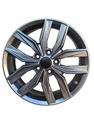 Диски R17 5х114.3 7,0J ЕТ45 d67,1 КС774 (ZV 17_i40) Dark platinum - фото 1
