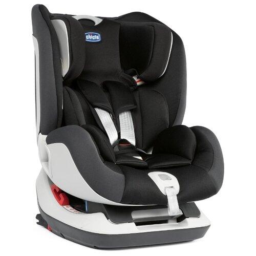 Автокресло группа 0/1/2 (до 25 кг) Chicco Seat Up Isofix, jet black