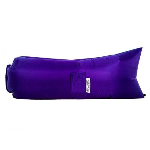 Надувной диван Биван Классический (180х80) фиолетовый надувной диван биван классический 180х80 фиолетовый