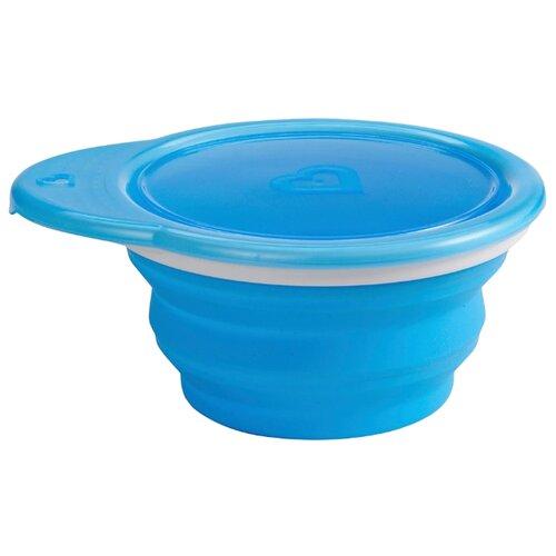 Купить Тарелка Munchkin Go Bowl (12377) синий, Посуда